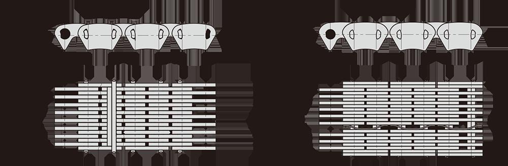 汽车分动器/变速器链
