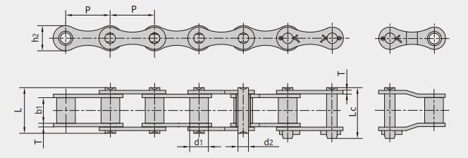 ZGS38型联合收割机链